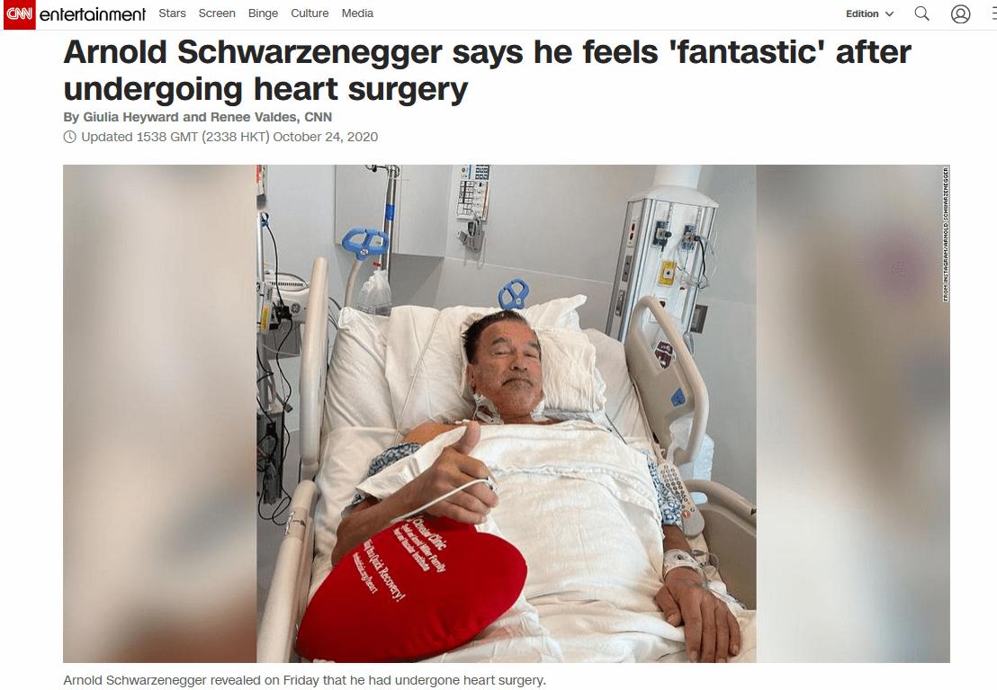 """再度接纳心脏手术后,巨石强森自称为""""觉得好极了"""""""