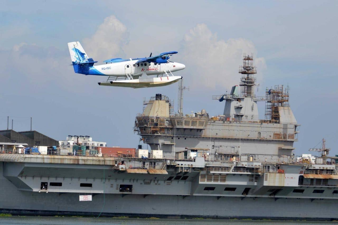 印度国产航母开始进行系泊试验,最新画面却曝出建造工作还未完成