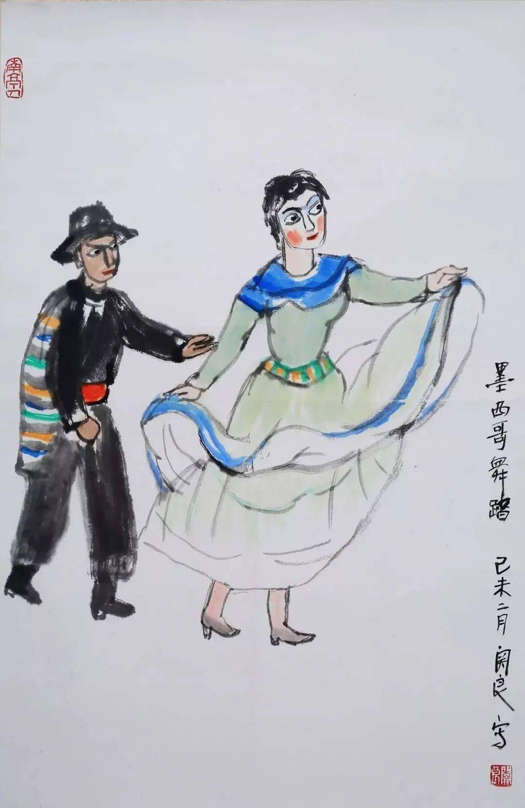 唐云 关良是黄宾虹齐白石之后,又一位具有重大创造性的画家之一