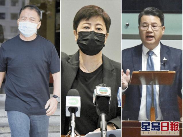快讯!香港反对派议员胡志伟、尹兆坚及黄碧云被捕