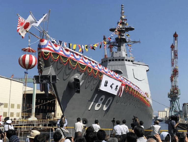 日媒:日本拟建新型宙斯盾驱逐舰,防御中朝导弹