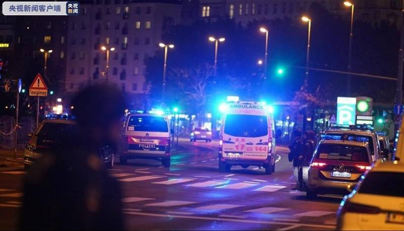 """奥地利维也纳恐袭致5死17伤,嫌犯系""""伊斯兰国""""支持者"""