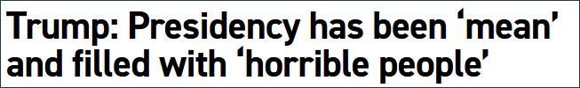 特朗普大吐苦水:美国是最难对付的国家,内部运作太难