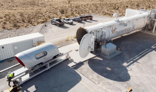 马斯克的又一奇思妙想:维珍超环首次载客测试成功,理论时速直逼飞机!