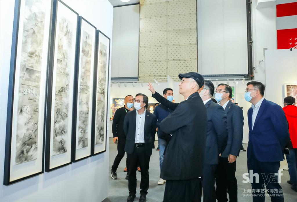 后浪来袭国内外青年优秀作品亮相上海青年艺博会