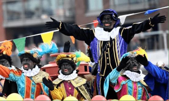 """荷兰禁止童书出现""""黑彼得""""形象,欧洲或将告别种族主义传统习俗"""