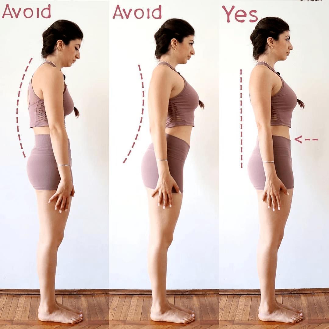 瑜伽练习者最容易做错的22个体式正误对比,一定要注意!