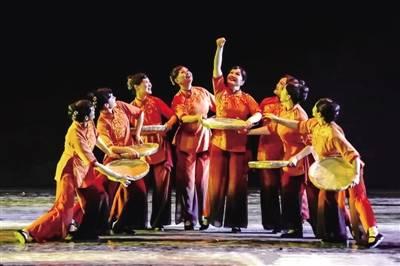 惠济区舞蹈《黄河砚娘》再获殊荣
