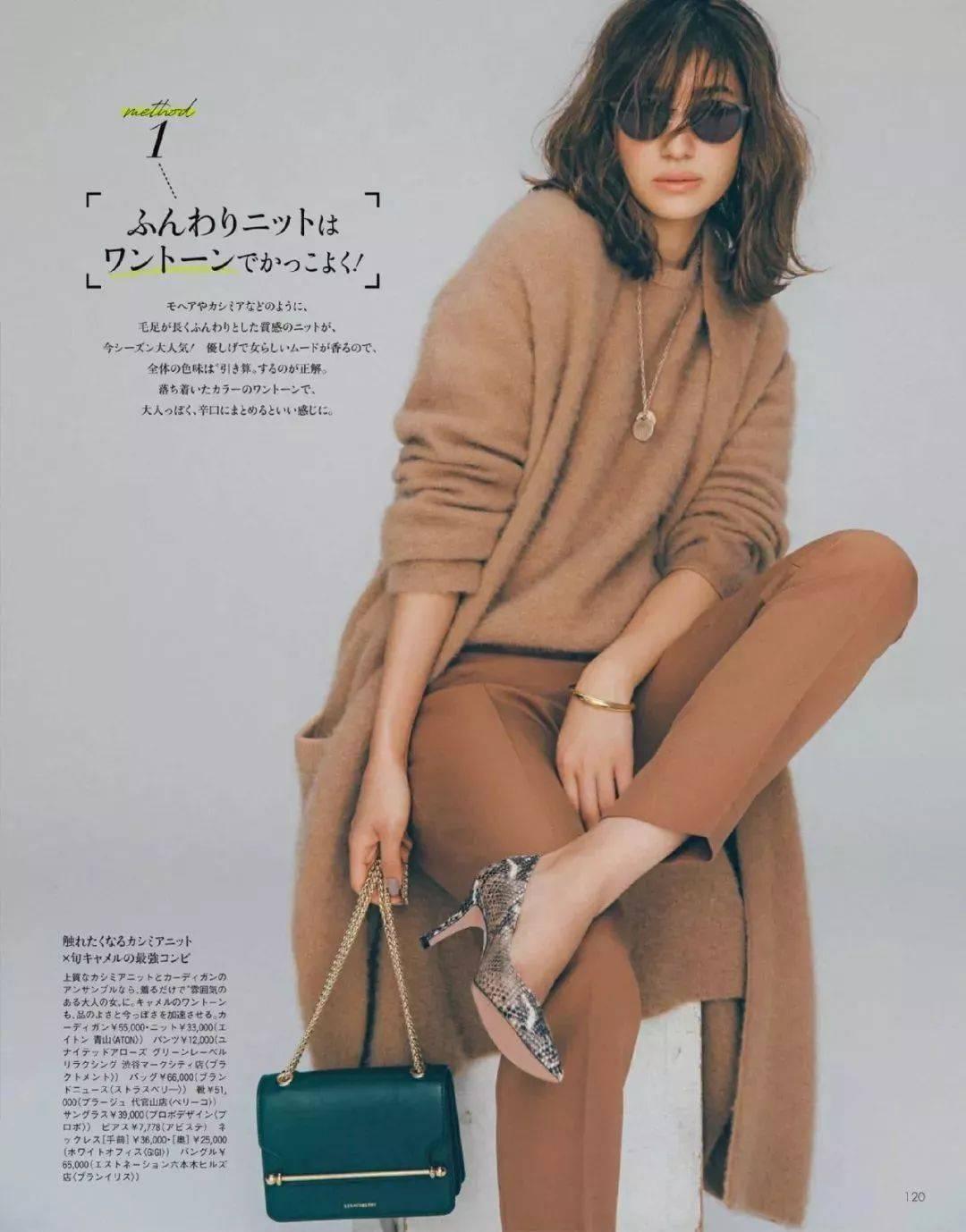 你穿毛衣+奶奶裤的样子,真的时髦炸了!!!