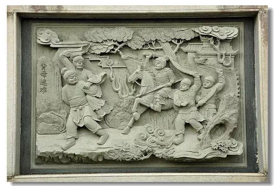 石雕二十四孝浮雕壁画赏析