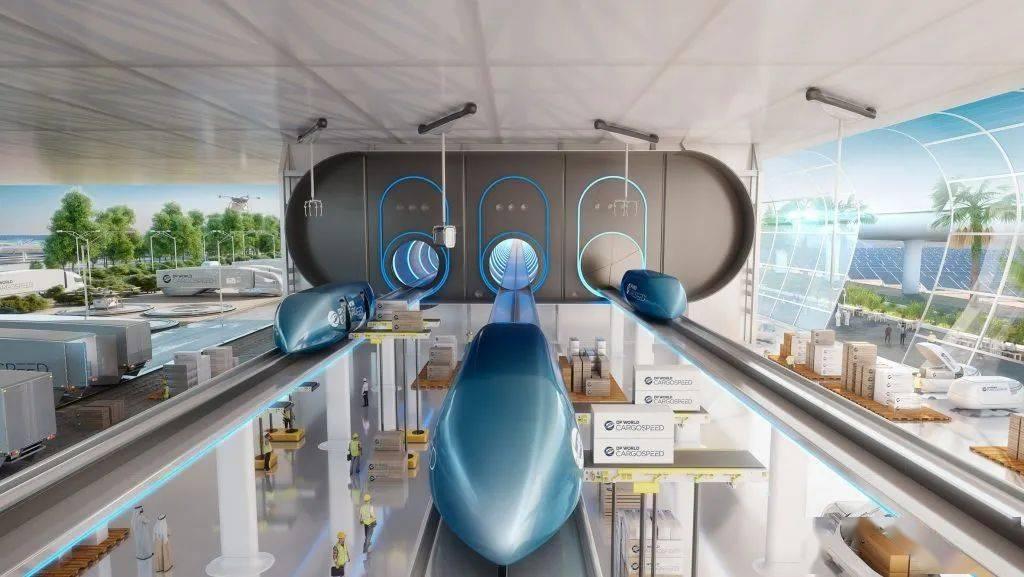 """时速可达1000公里  马斯克""""超级高铁""""首次载人测试成功!"""