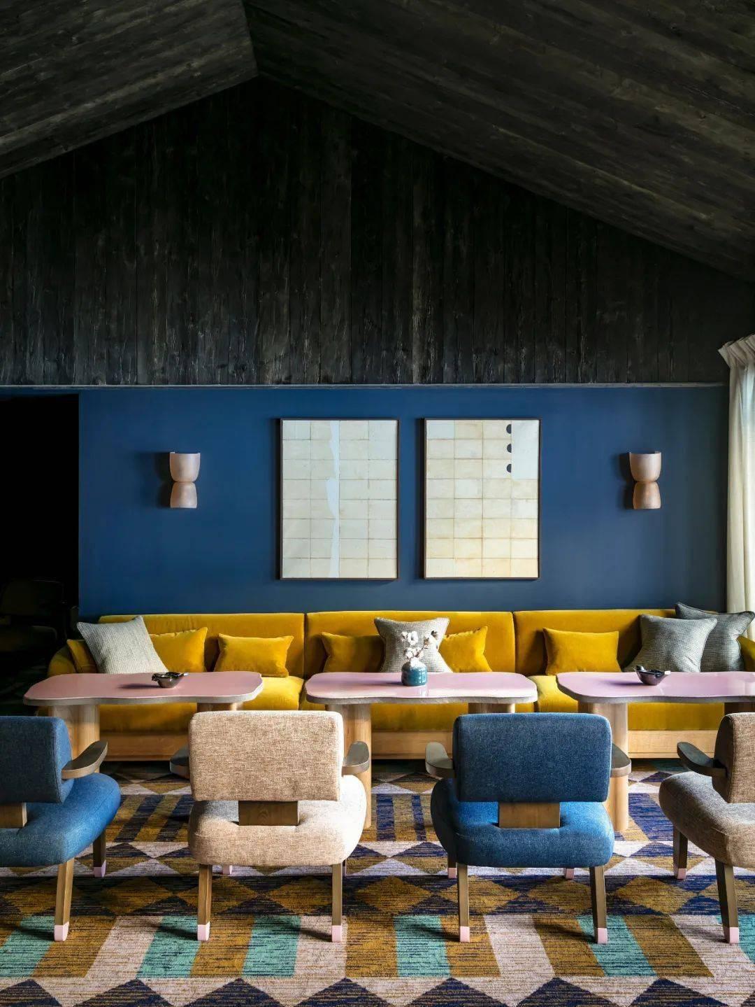 """网红""""小熊椅""""设计师Pierre Yovanovitch新作,阿尔山脚下的温泉酒店"""