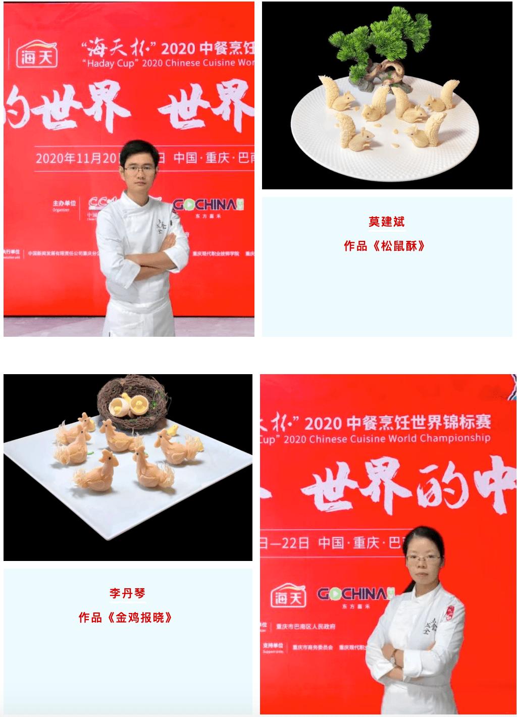 厉害了!我市教师在中餐烹饪世界锦标赛中获2个金奖