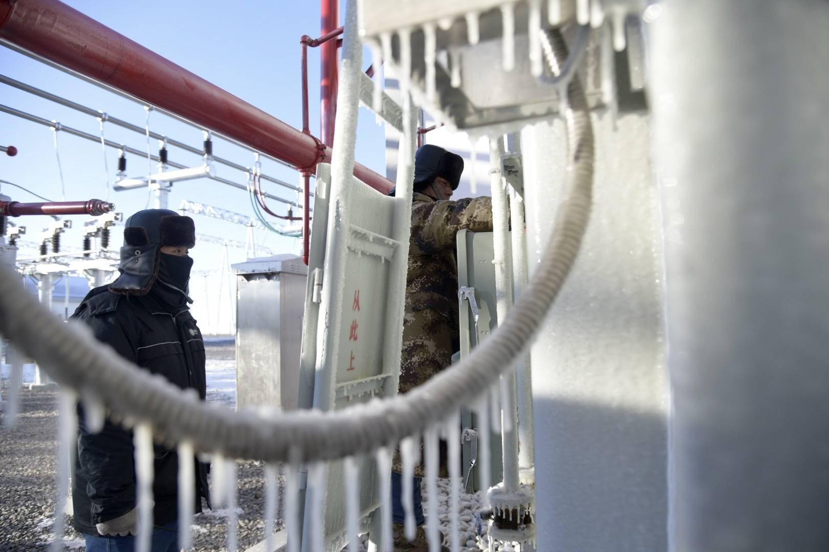"""内蒙古锡林郭勒盟""""五站五线""""新能源汇集工程正式投运"""