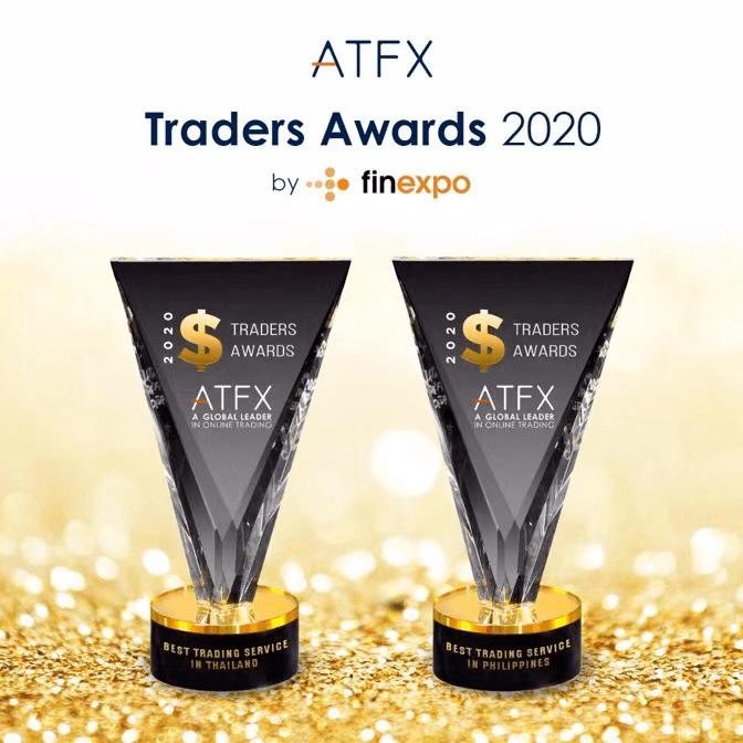 """ATFX获得两项行业大奖,并于2021年推出新发展。ATFX获得了两项国际大奖,并被授予""""最佳交易服务""""奖"""