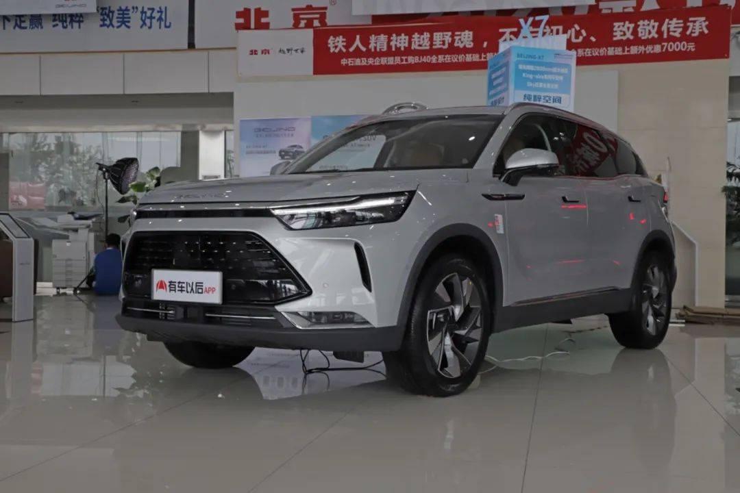 新的一年,热卖SUV全新,配置优化,售价12.69万