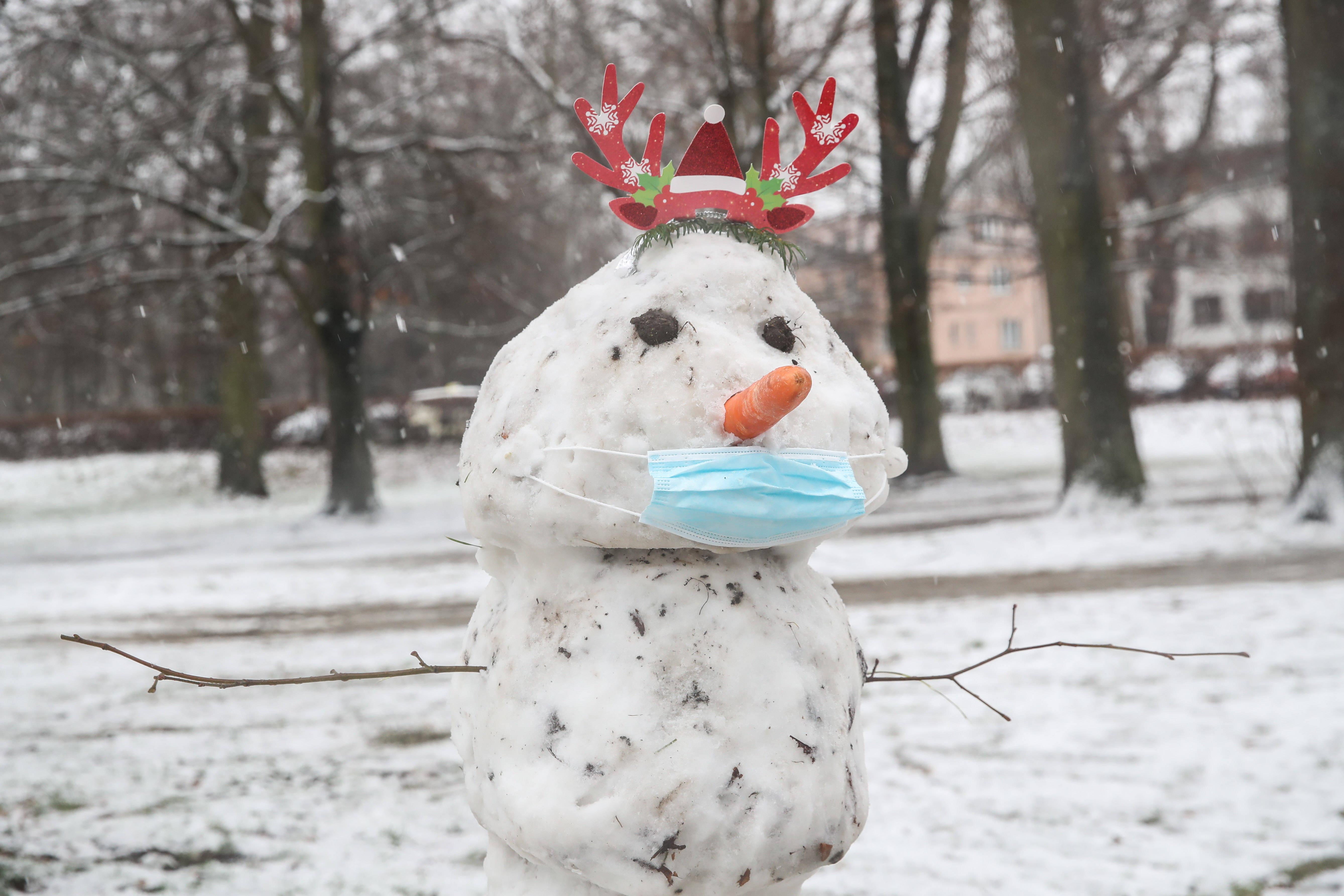 柏林:新年伊始降雪yiv
