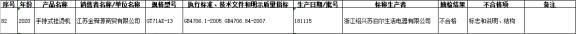 浙江省抽样检查纺织物蒸汽发生器21%批号不过关苏泊尔登榜