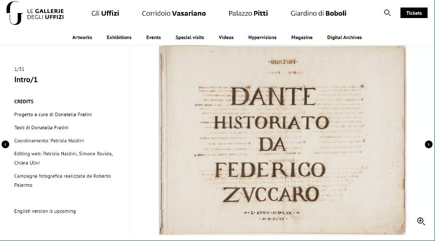 留念但丁去世700周年纪念,西班牙艺术馆网上展览《神曲》稀见