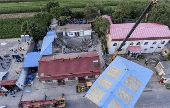 """临汾聚仙饭店""""8·29""""坍塌事故致29人死亡,事故原因曝光!  第2张"""
