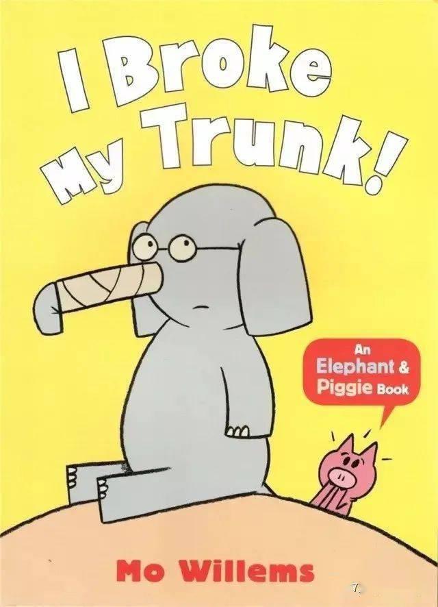 【绘本阅读】I Broke My Trunk