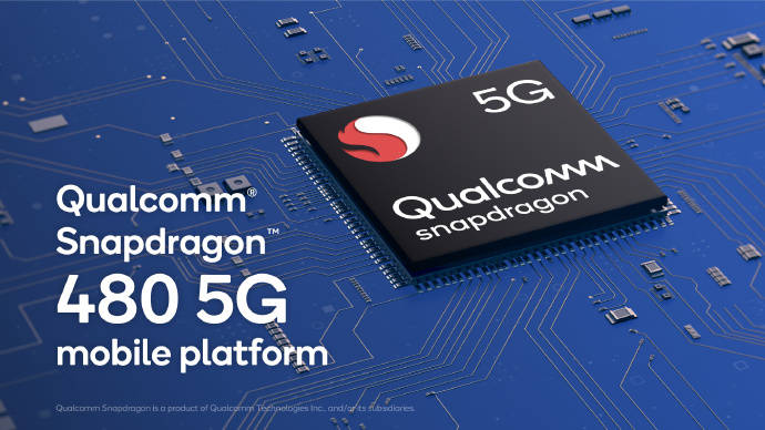 红米10处理器有了!骁龙480发布:支持5G+高刷,性能翻倍