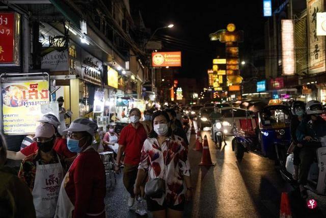 泰国曼谷局部封城 过半受访者认为经济将进一步衰退