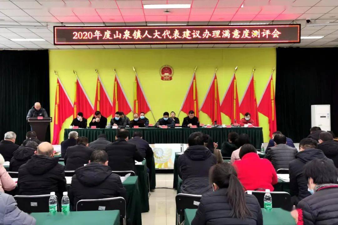 山泉镇人大开展民生工程和代表建议办理评议