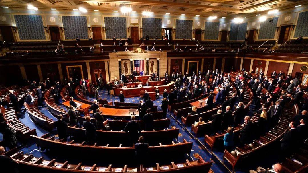 美国国会暴乱后,确认拜登当选总统 民主党将掌控参众两院