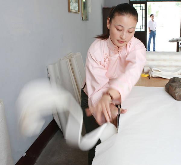 中国入选联合国教科文组织非物质文化遗产名录(名册)项目之宣纸制作技艺