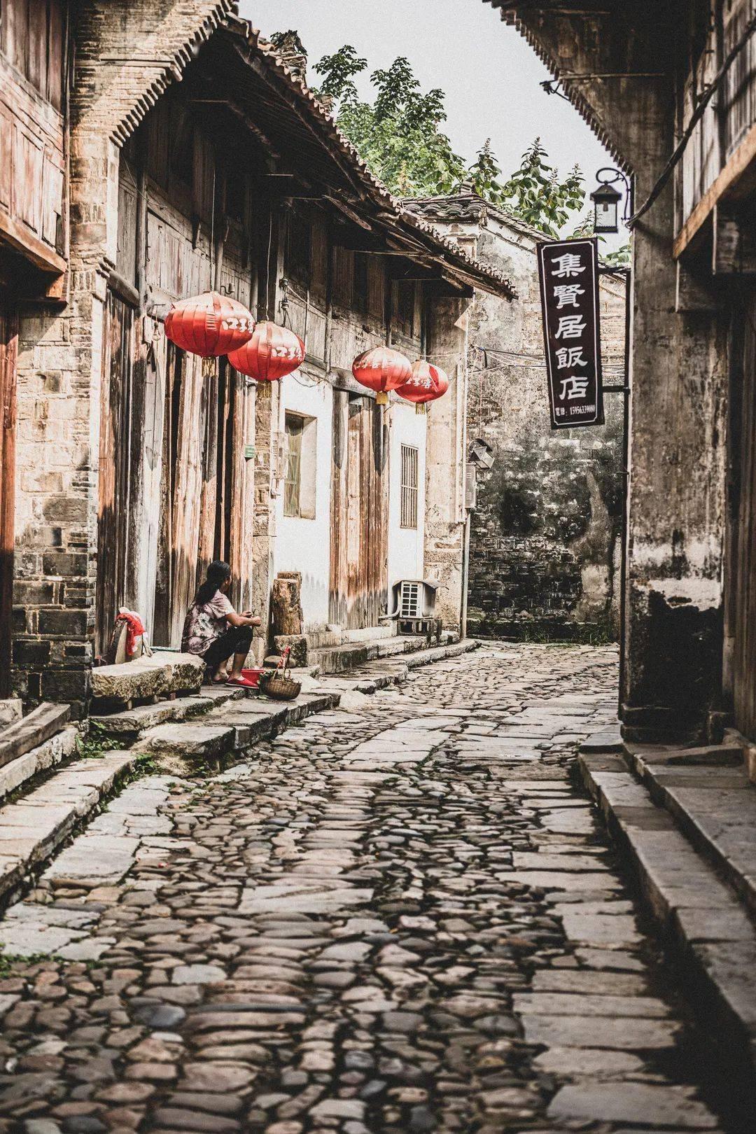 隐藏在泾县的百年老街,一进去就能瞬间穿越!