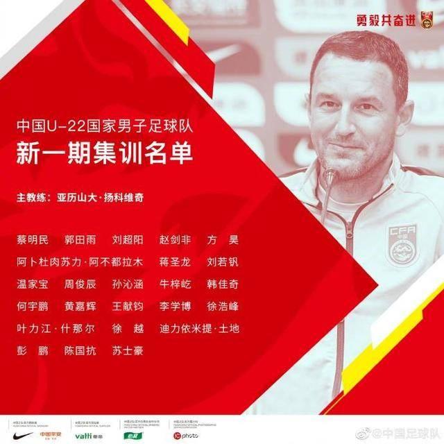 U22国足新一期名单公布,上港和国安无人入选,鲁能申花成大户
