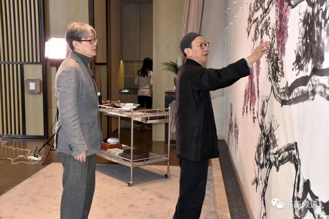 著名艺术家吴悦石、范存刚、徐里共创《春满人间》 联袂助阵2021大美之春_创作