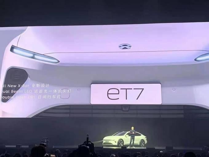 威来第一辆车ET7亮相!150千瓦小时的电池组是亮点