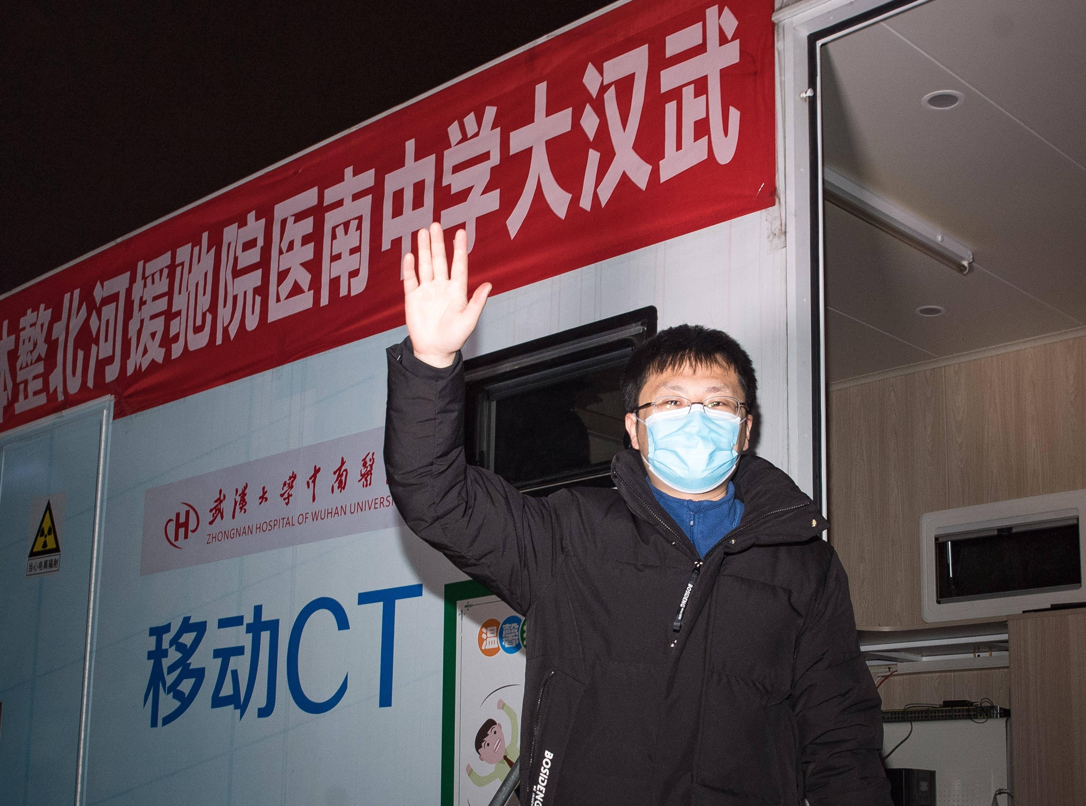 武汉大学中南医院派出车载移动CT支援河北