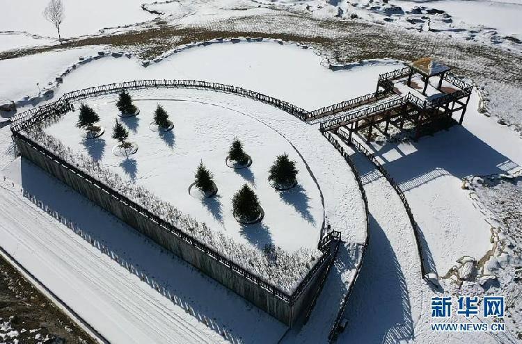 美如画!看雪后银装素裹的红池坝