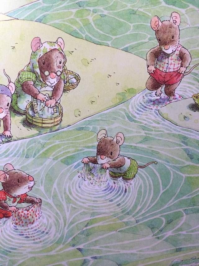 有声绘本:14只老鼠洗衣服  第7张