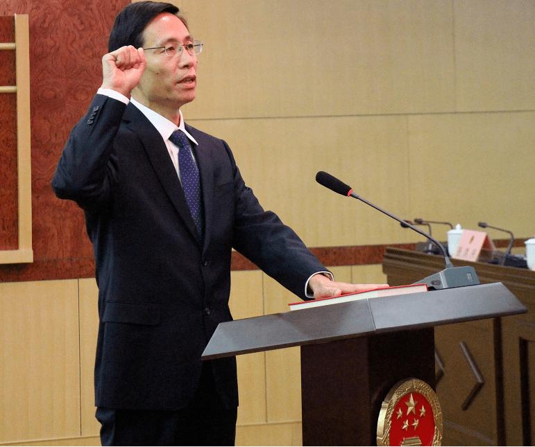 张伦任山东菏泽市副市长、代理市长,陈平辞去市长职务