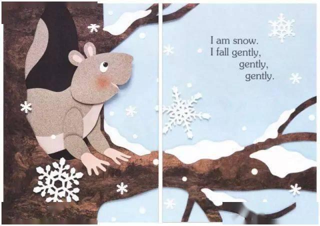 绘本故事:《I Am Snow》我是雪  第5张