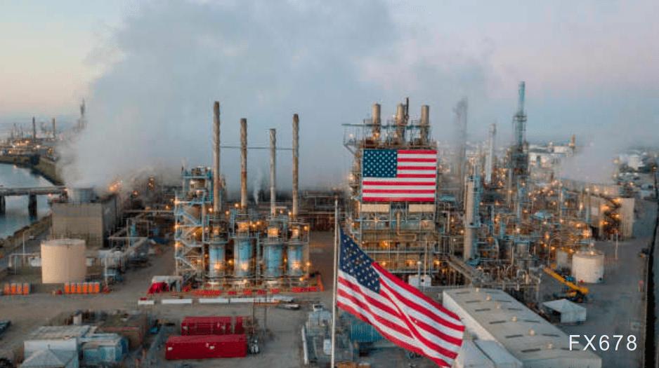 美油刷新近11个月新高,升破53关口,美国加码经济刺激预期高涨,原油库存有望五周连降