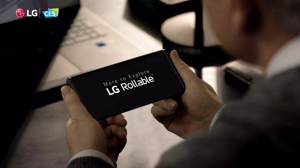 LG 预告其卷轴屏幕手机 LG Rollable
