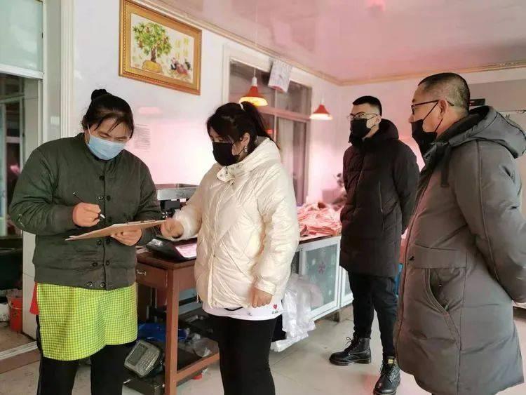 严防疫情输入,金川镇开展食品经营单位联合检查
