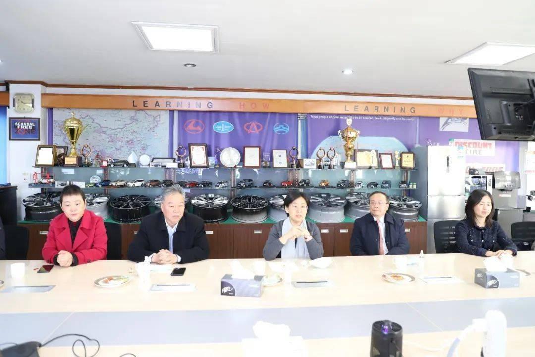 江苏省台办主任练月琴赴昆山走访慰问台商台胞 送上新春祝福