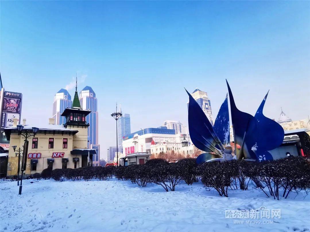 寒冬腊月,雪来再降温