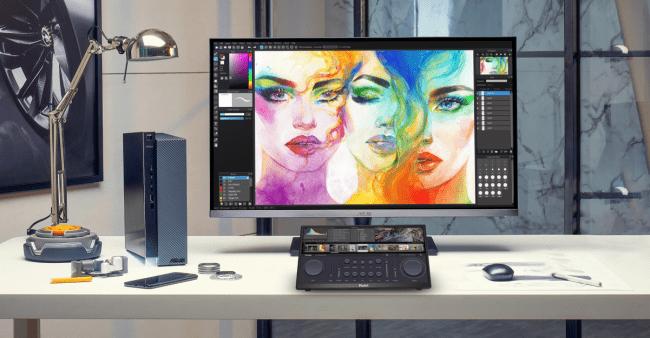 华硕PA148CTV便携专业显示器亮相CES2021,强悍实力成创作者新宠