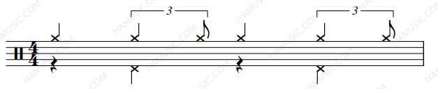 【爵士鼓】学会这个节奏,马上开始演奏爵士乐!