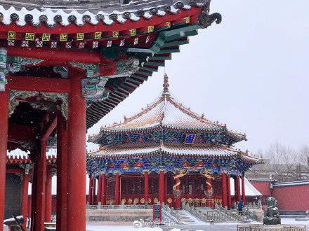 白雪、红墙、黛瓦 沈阳故宫雪景图上新!