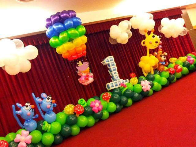 装饰气球培训,2020最简单的墙上气球装饰