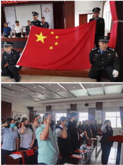 海南区人民法院举行人民陪审员就职宣誓仪式