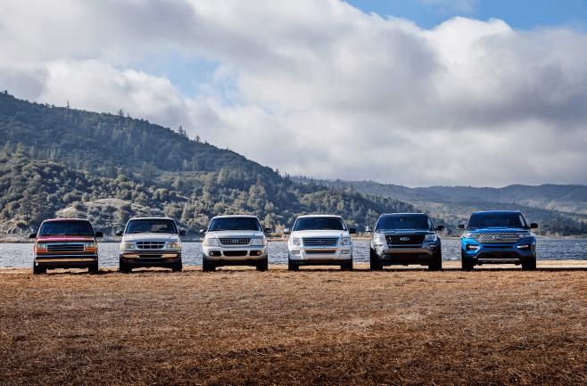 配置有惊喜 全新福特探险者上市 30.98万起售